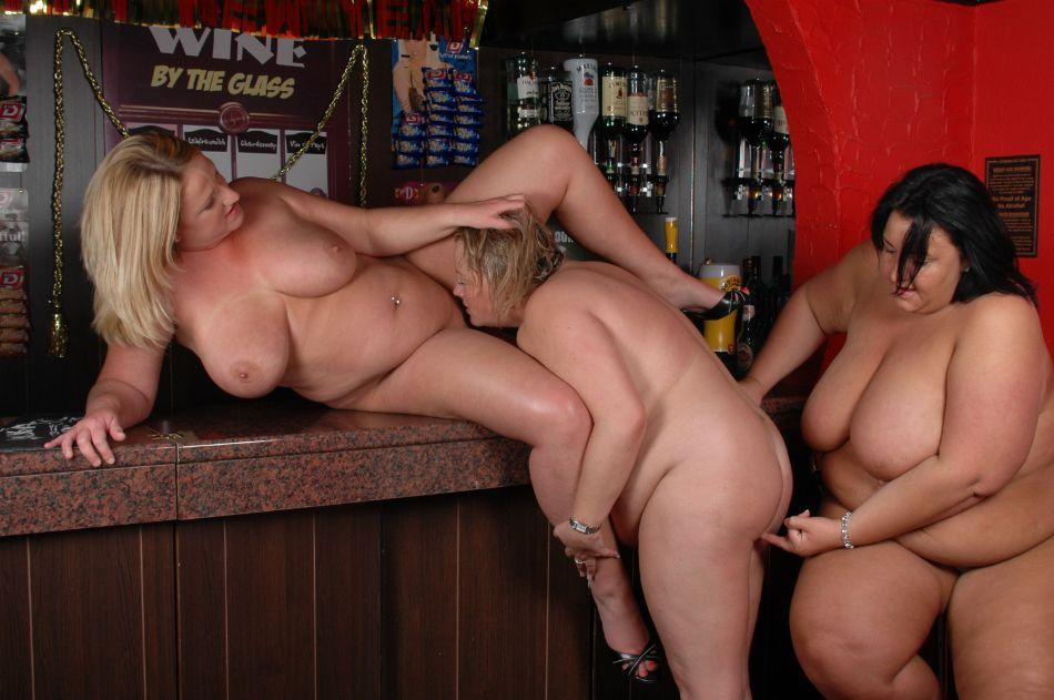 Uber-sexy plumper lesbo games -..