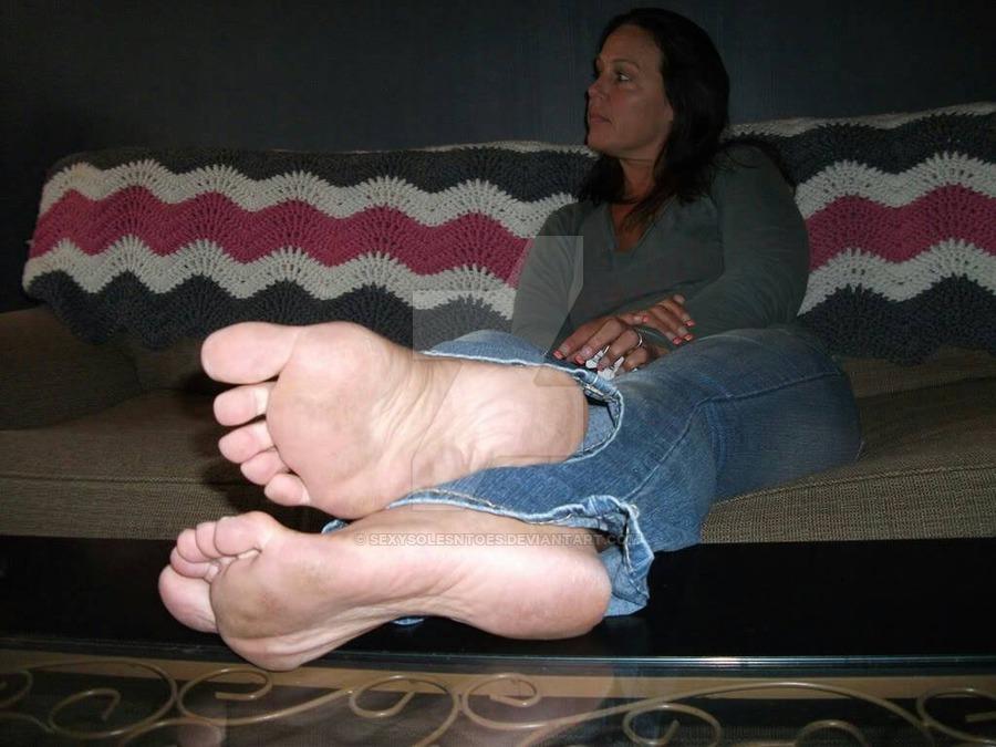 Supah Sumptuous Muddy Mummy Feet by..