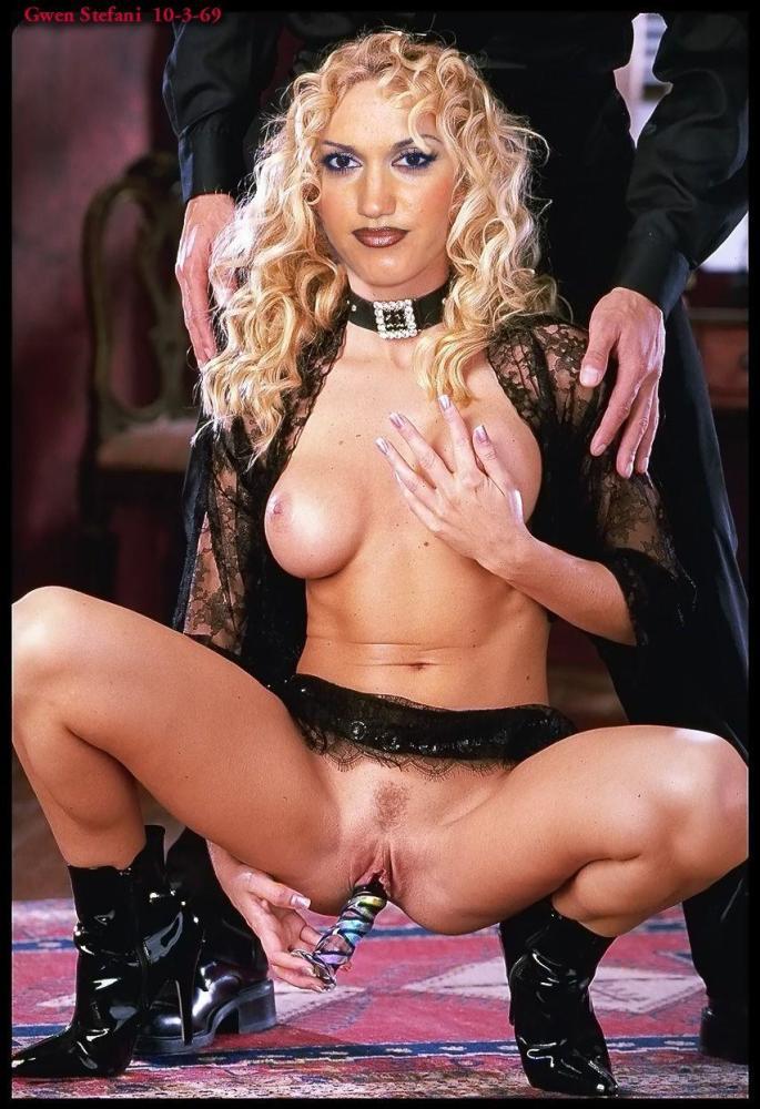 Gwen Stefani Celeb Fakes z Free Gonzo..