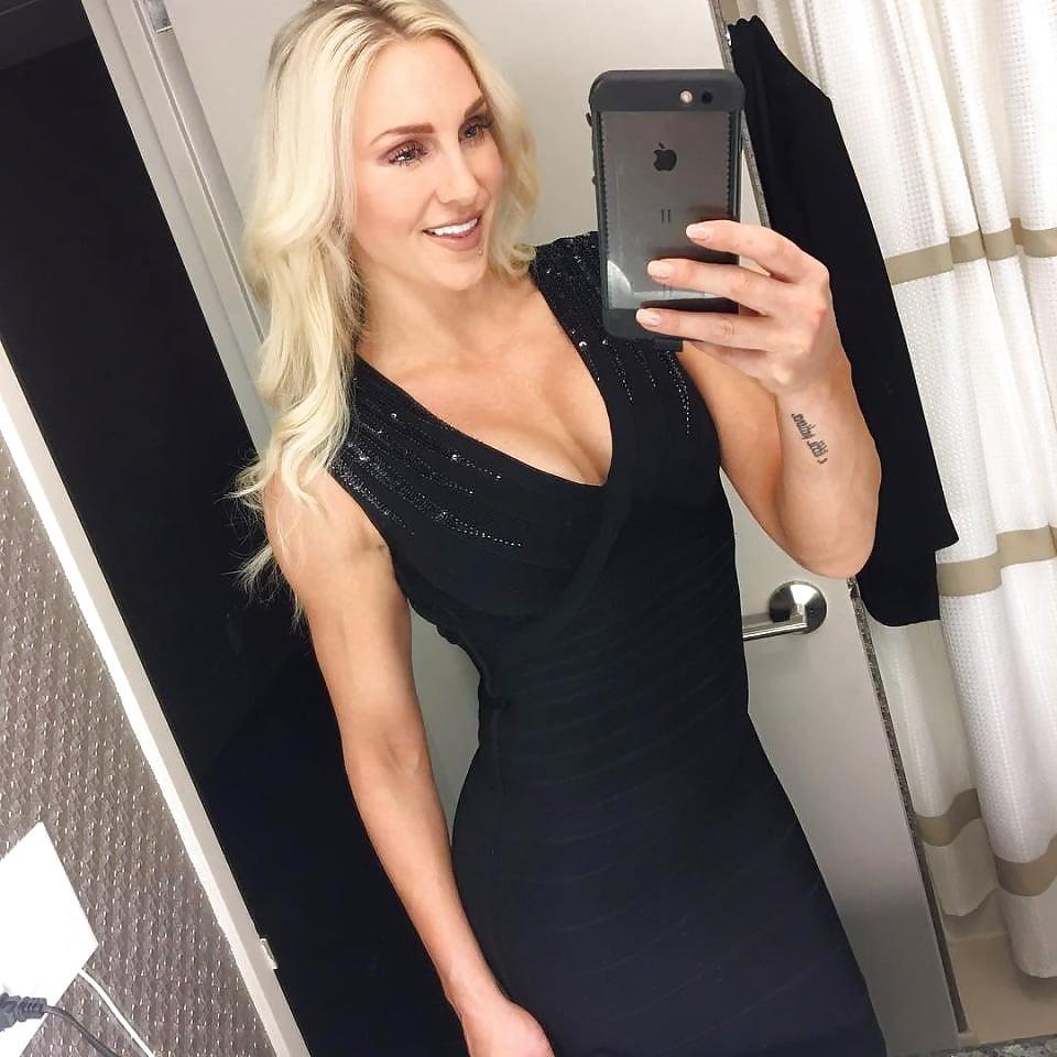WWE Diva Charlotte Flair Nude - Hot Photos - Naked - Boobs