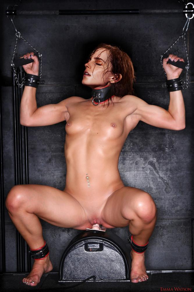 fakes emma watson restrain bondage