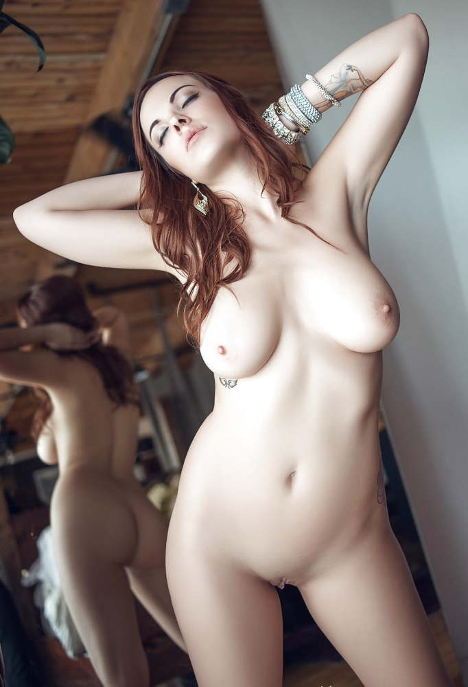 Heavenly ginger-haired with tastey..