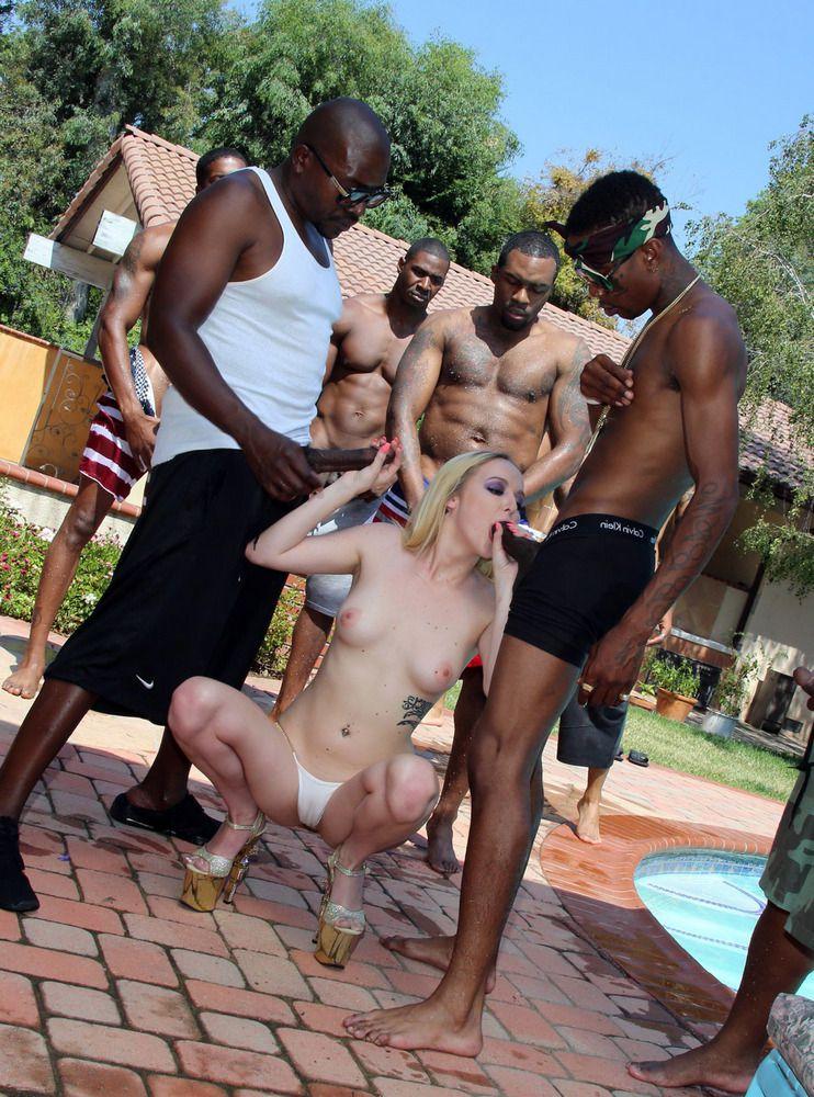 Blacks On Blondes multiracial..
