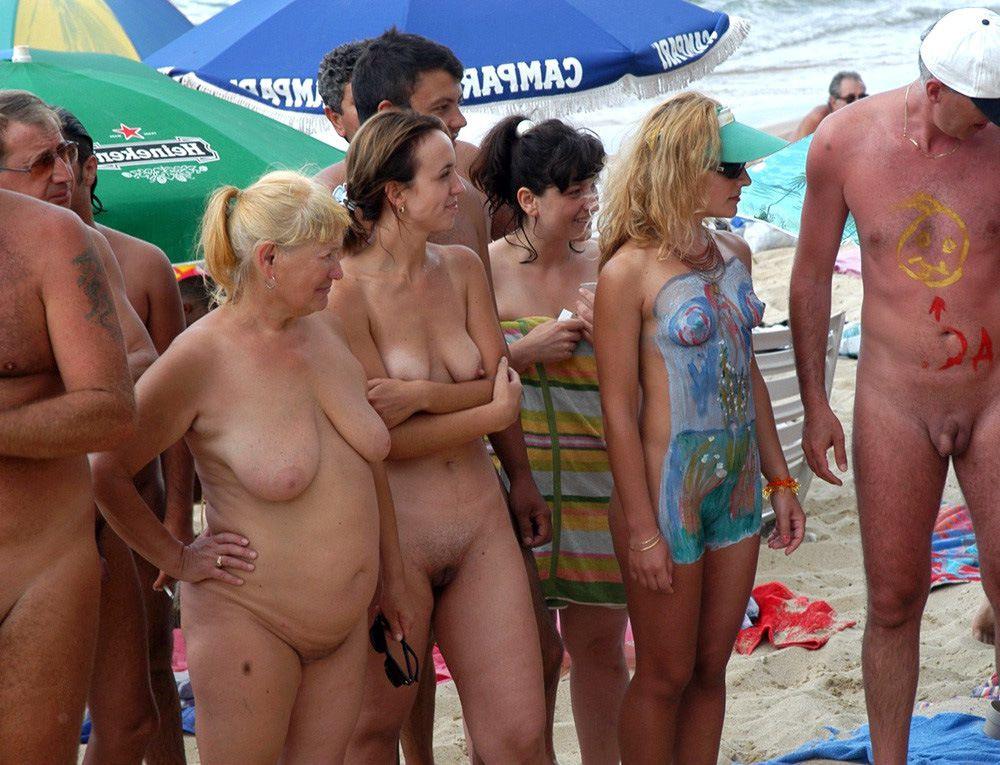 Depraved couples in a swingers camp,..